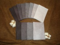 Hand dyed Cotton Gradation Packs