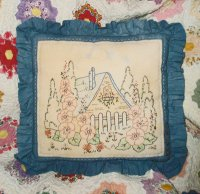 The Cottage In The Woods Parlor Pillow