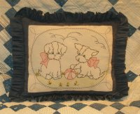 Puppy Pals Parlor Pillow