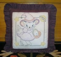 Trick or Treat Parlor Pillow